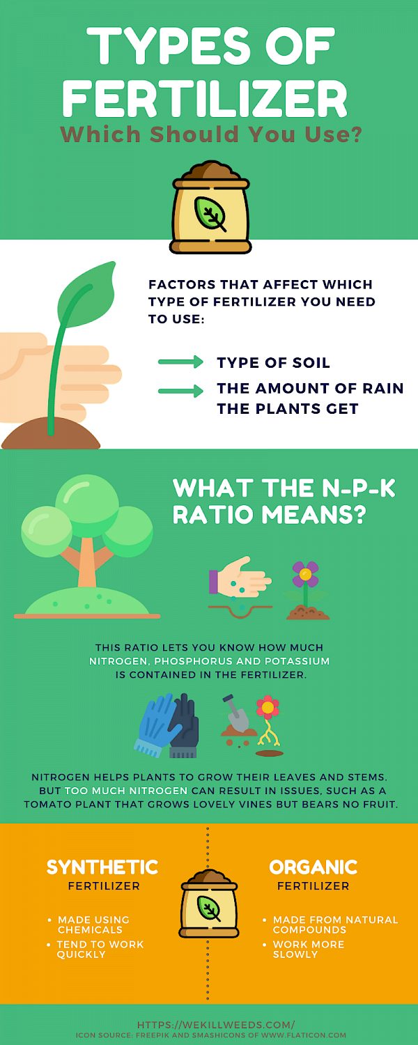 Infographic About Types of Fertilizer