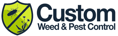 Custom Weed and Pest Control Logo